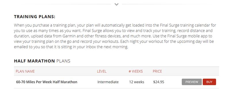 Final Surge – Plan Sales
